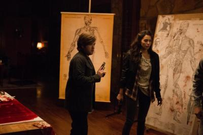 """Haley Joel Osment and Genesis Rodriguez (l. to r.) in """"Tusk"""""""
