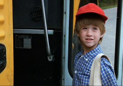 """Haley Joel Osment as """"Forrest Jr."""" in """"Forrest Gump"""""""