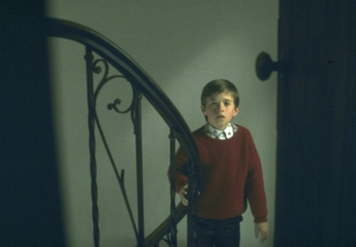 "Haley Joel Osment as ""Cole Sear"" in ""The Sixth Sense"""