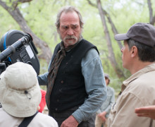 the homesman - tommy lee on location in lumpkin
