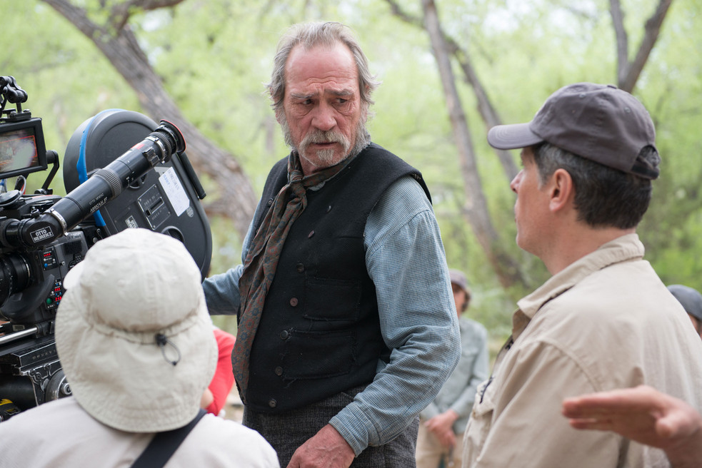 Tommy Lee Jones on THE HOMESMAN: �We were very lucky to find ...
