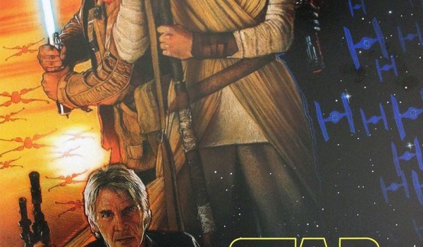 star wars the force awakens - one sheet