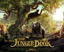 THE JUNGLE BOOK - full banner poster
