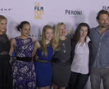 girl flu - premiere - cast