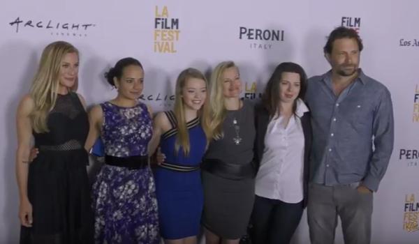 girl flu - premiere - cast