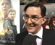 Eric Heisserer, screenwriter of ARRIVAL, at LA Premiere, November 6, 2016