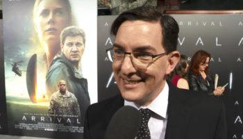 Eric Heisserer, screenwriter of ARRIVAL, at LA Premiere, November 6, 2016