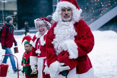 Tony Cox, Kathy Bates, Billy Bob Thornton (l. to r.), BAD SANTA 2