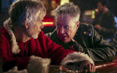 Billy Bob Thornton and Kathy Bates (l. to r.) in BAD SANAT 2