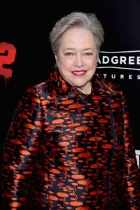 Kathy Bates at BAD SANTA 2 premiere. Photo courtesy of Broad Green.