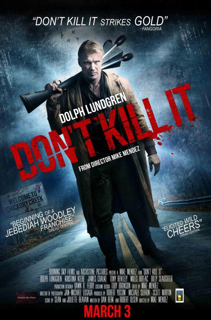 dont kill it - one sheet