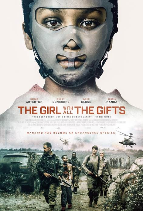 the girl with all the gifts - one sheet