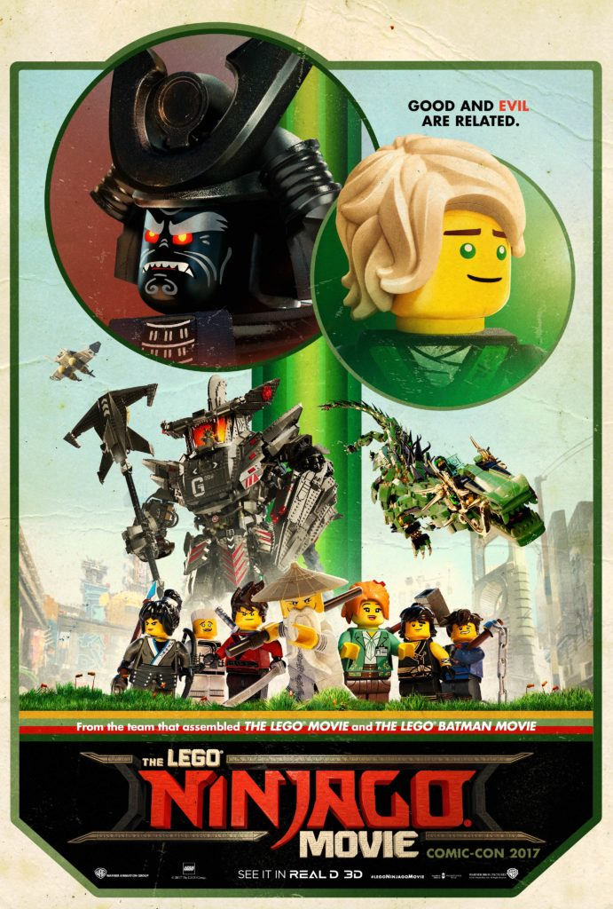 The Lego Ninjago Movie Trailer Posters One Sheet Take A Look Behind The Lens Online