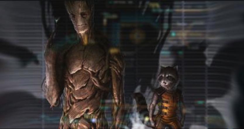 """Vin Diesel Makes Groot Grrrrreat in """"Guardians of the ..."""